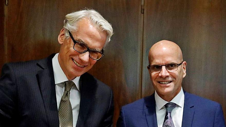 Alcoa financió con 65 millones la gestión de Parter y Riesgo en las fábricas desde su venta