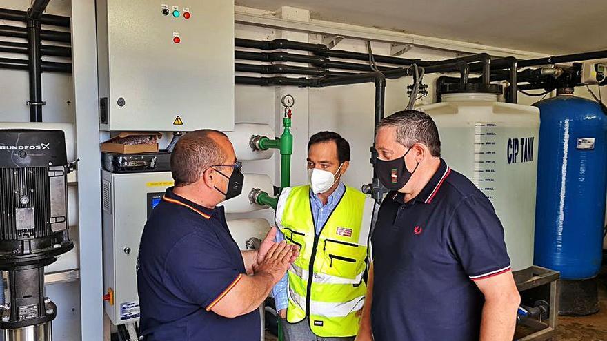 Madridanos y Bamba amplían la estación de tratamiento de agua