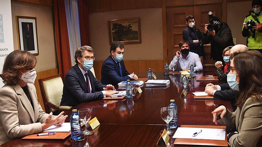 Estado, Xunta, Diputación y Concello de Sada cooperarán en la gestión del pazo de Meirás