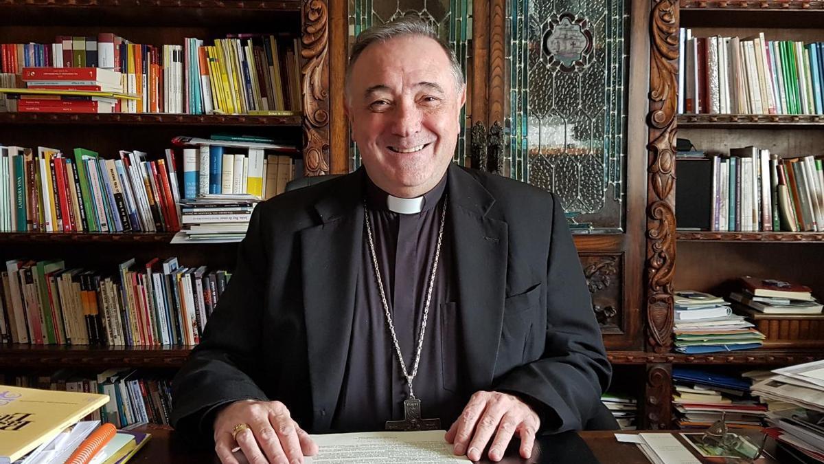 Luis Ángel de las Heras, nuevo obispo de León.
