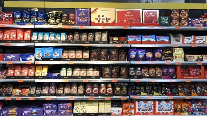 Mercadona aumenta un 60% la venta de chocolates