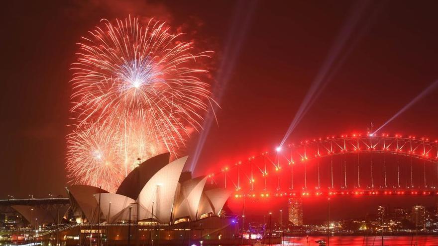 Así reciben al Nuevo Año en el mundo
