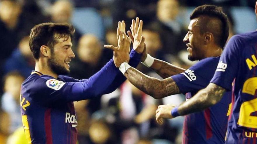 El Barça dels «suplents» compleix i s'endú un valuós empat de Balaídos