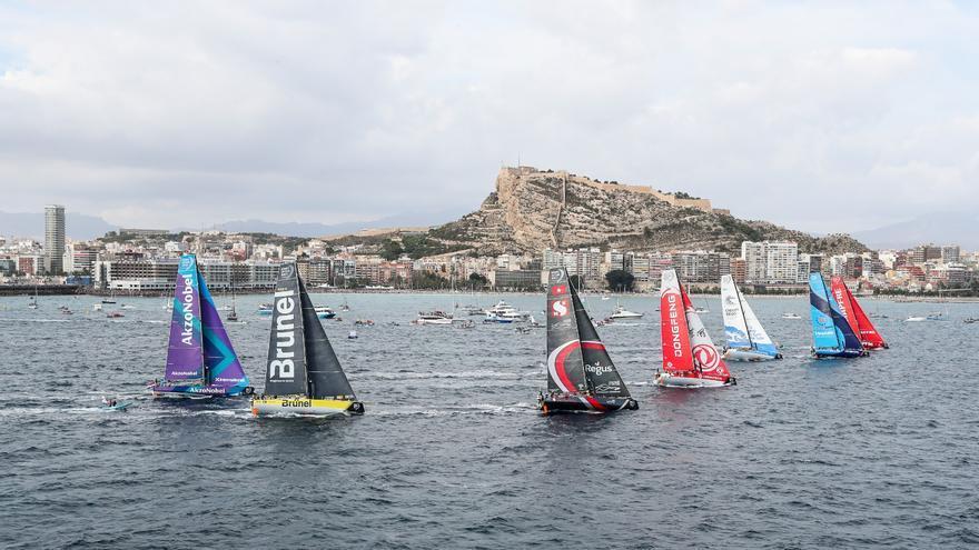 Alicante se prepara para recibir la llegada de los barcos de la regata The Ocean Race Europe