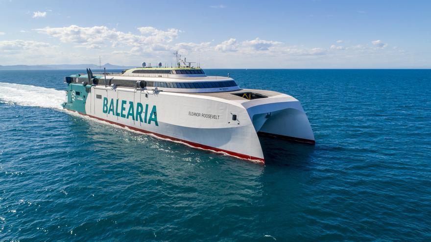 Baleària realiza el primer trayecto descarbonizado de la navegación europea gracias al biometano
