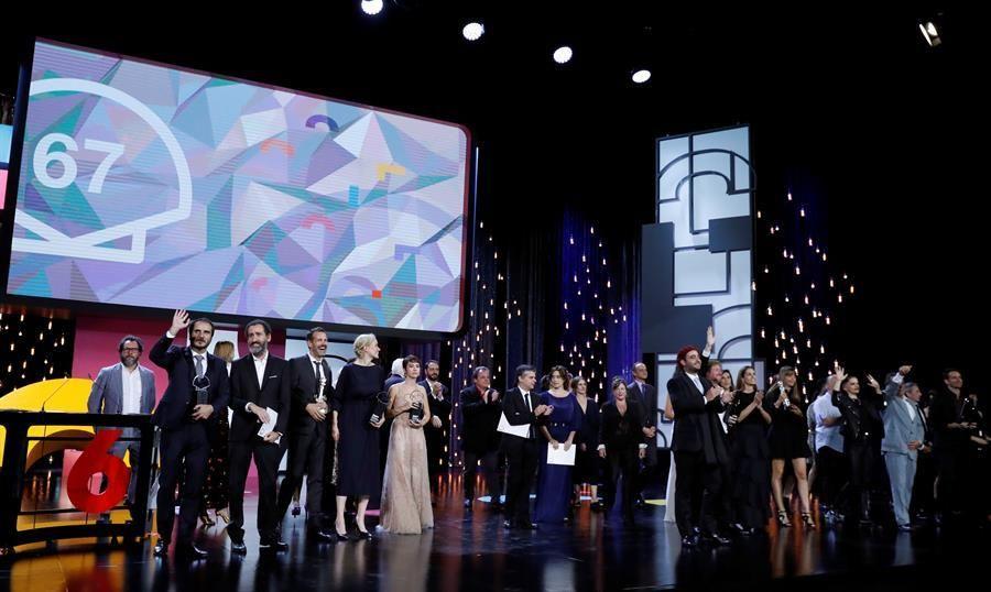 Gala de clausura del Festival de Cine de San Sebastián