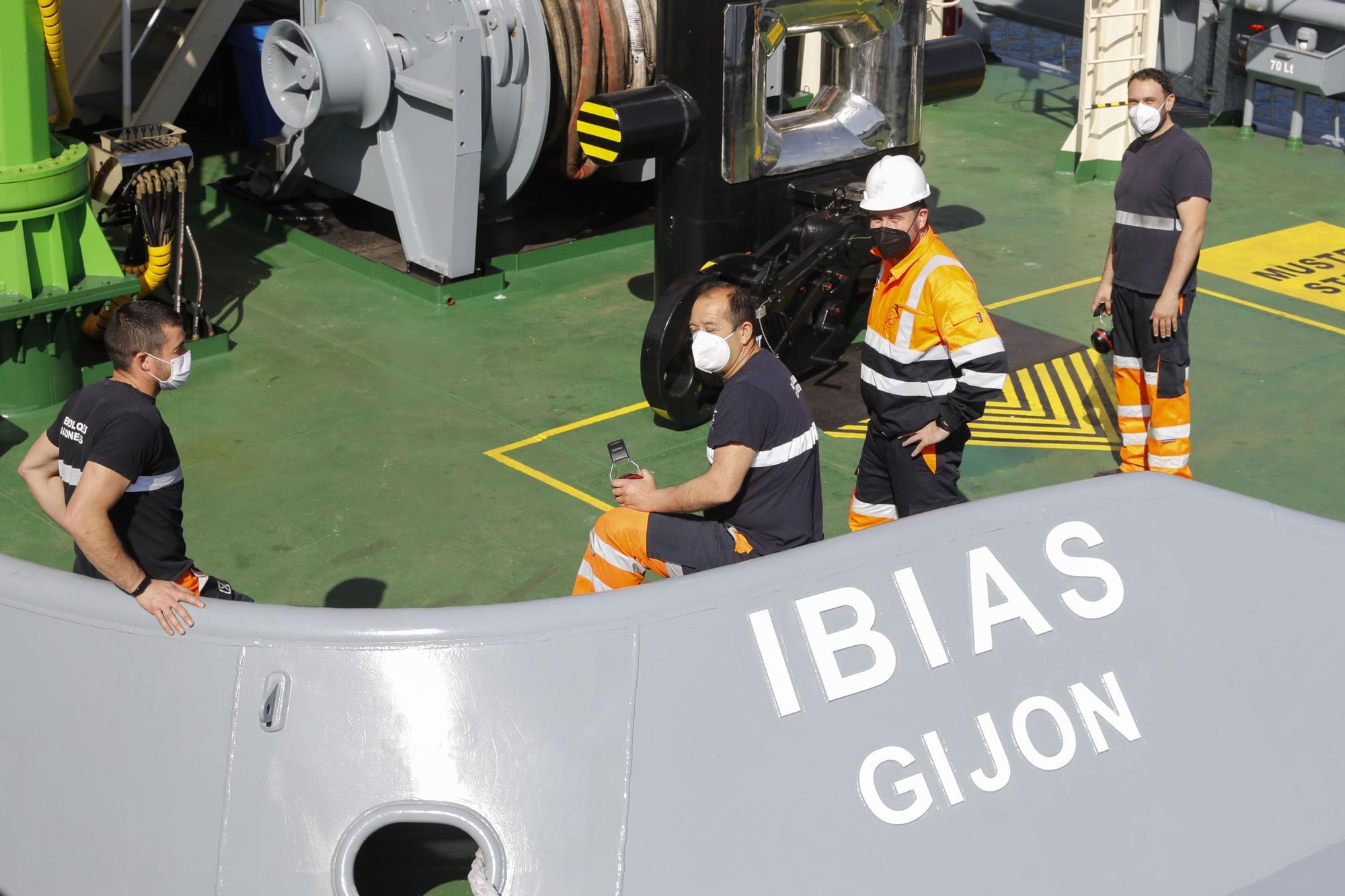 """""""Ibias"""", el buque insignia de los remolcadores"""