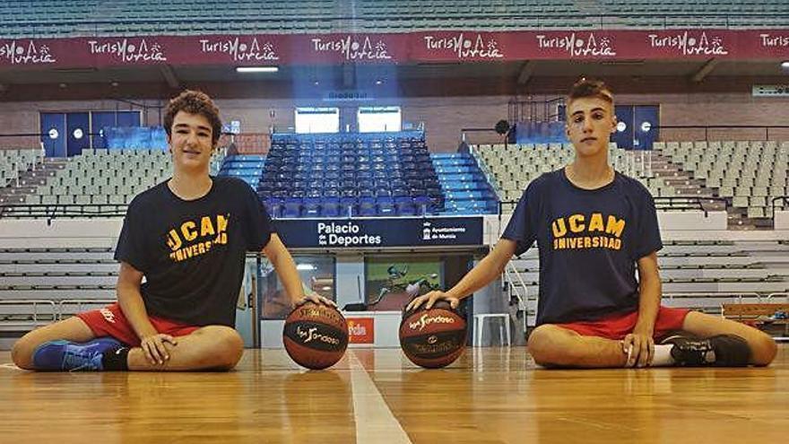 Dos jugadores del UCAM y una del Maristas, convocados por la Federación Española