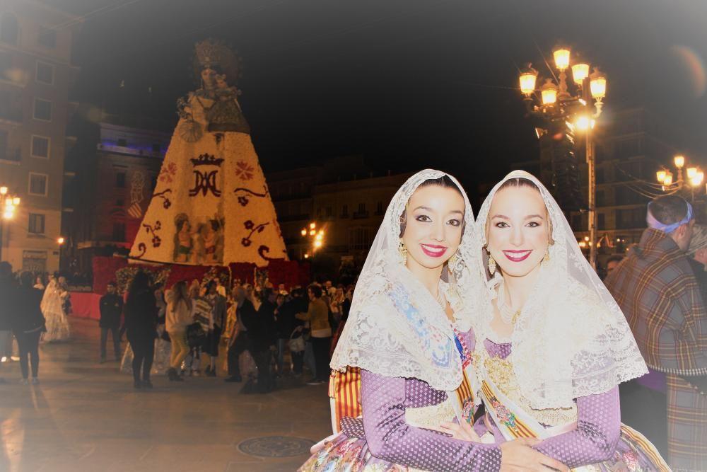 Laura Carballeda y Paula Santarrufina