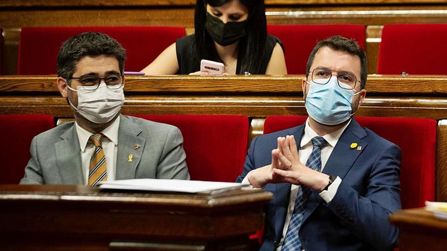 Aragonès exigeix «lleialtat» a JxCat, que rebutja les seves condicions a la taula