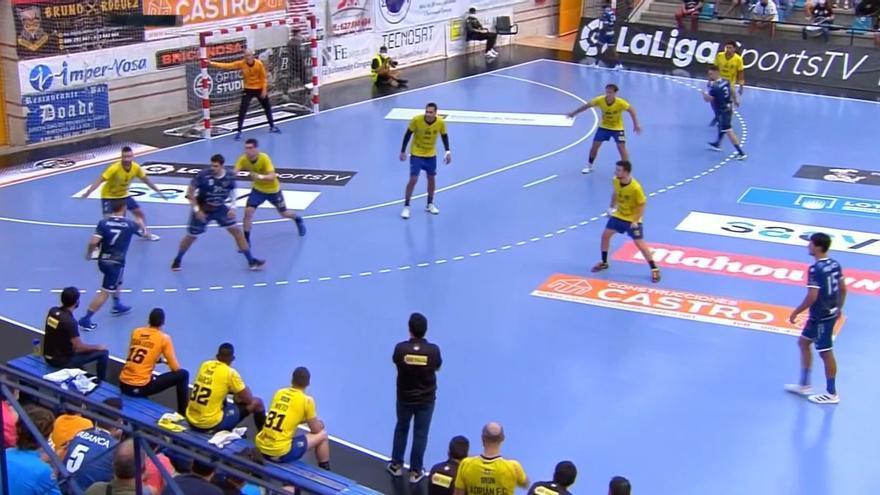Al Cangas se le escapa un punto ante el subcampeón