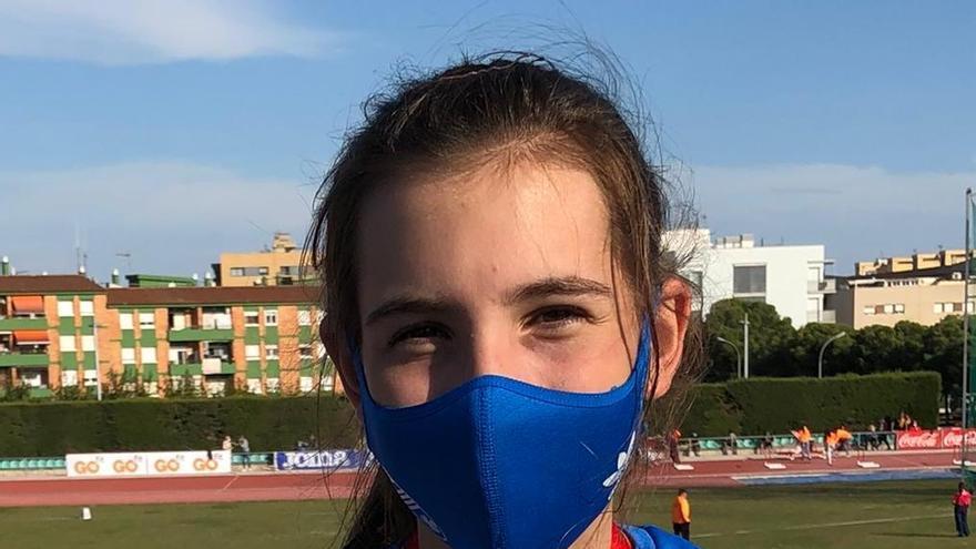 Jana Brusés es penja el bronze al Campionat d'Espanya