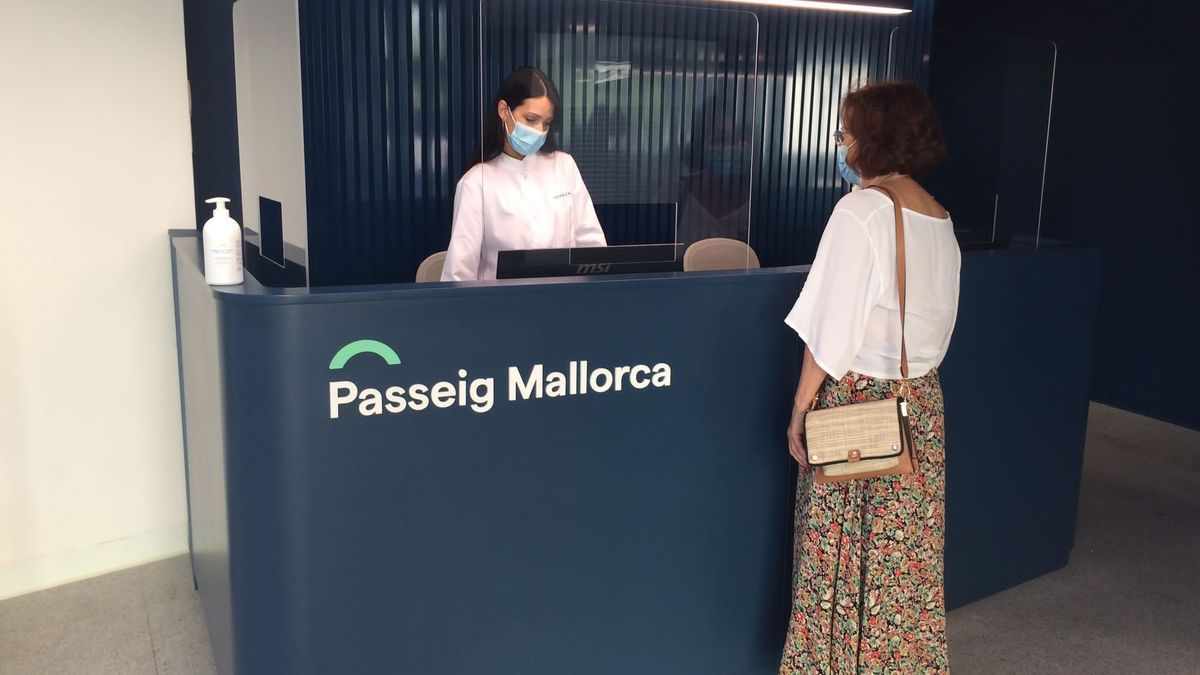 Miranza Passeig Mallorca, nueva clínica oftalmológica en Palma de Mallorca.
