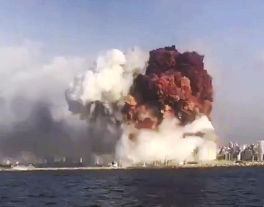 Explosión en el puerto de Beirut | Agosto