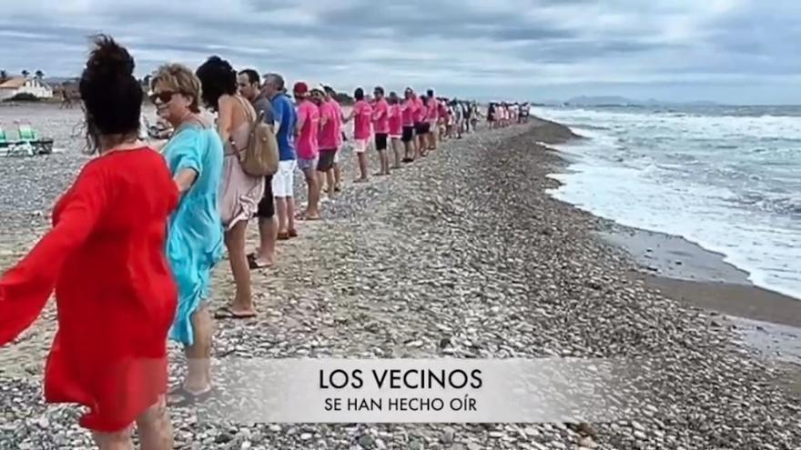 Vecinos de Almardà hacen un vídeo, para visibilizar su protesta por el traslado de piedras a Almenara.