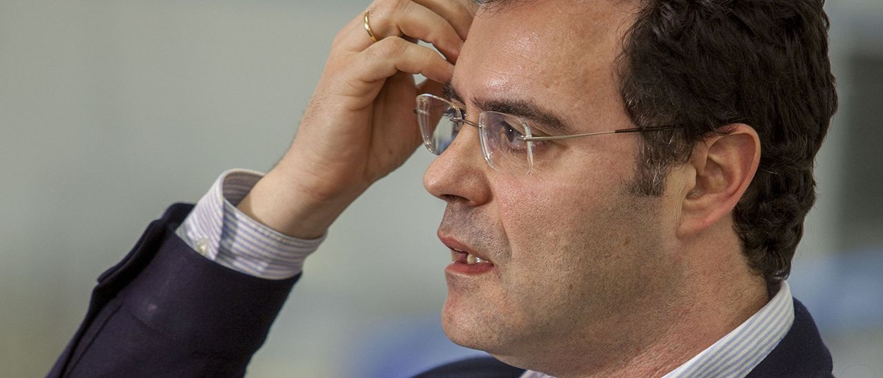 El presidente de Anfaco, Iván Alonso-Jáudenes