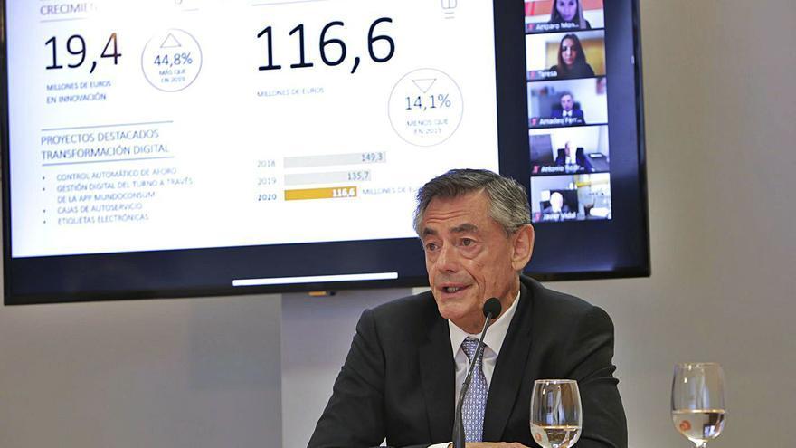 Consum crecerá en Andalucía y Cataluña sin comprar otras firmas del sector