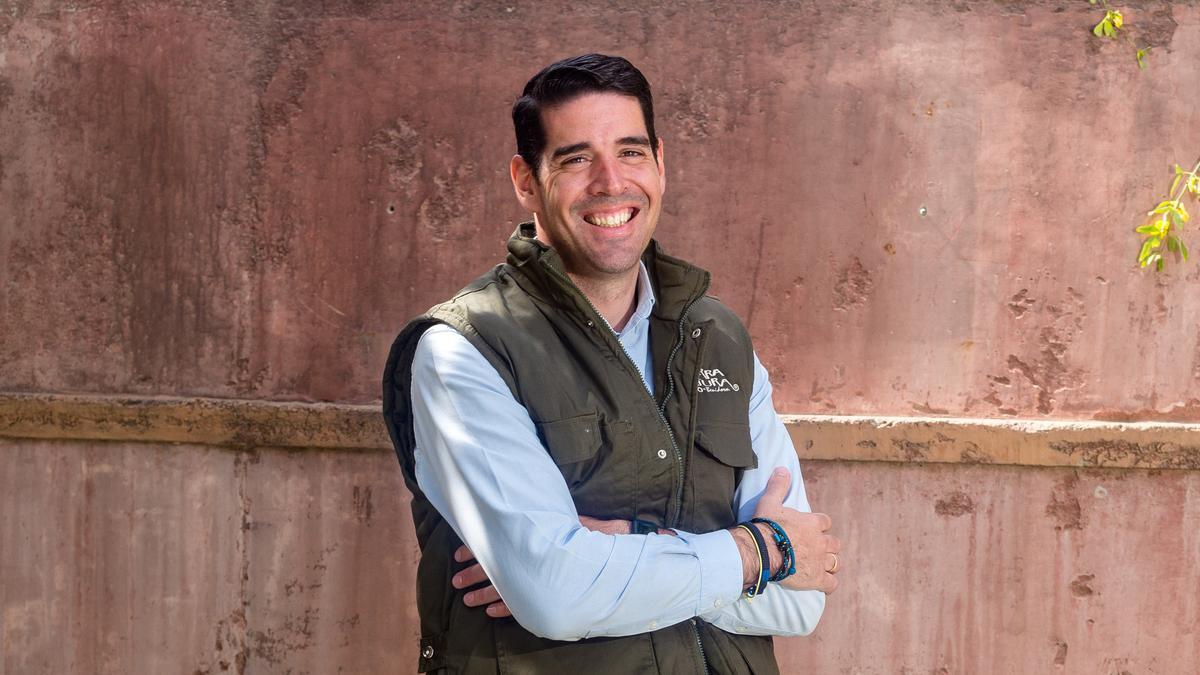 El director general de Terra Natura,  Luis Perea.