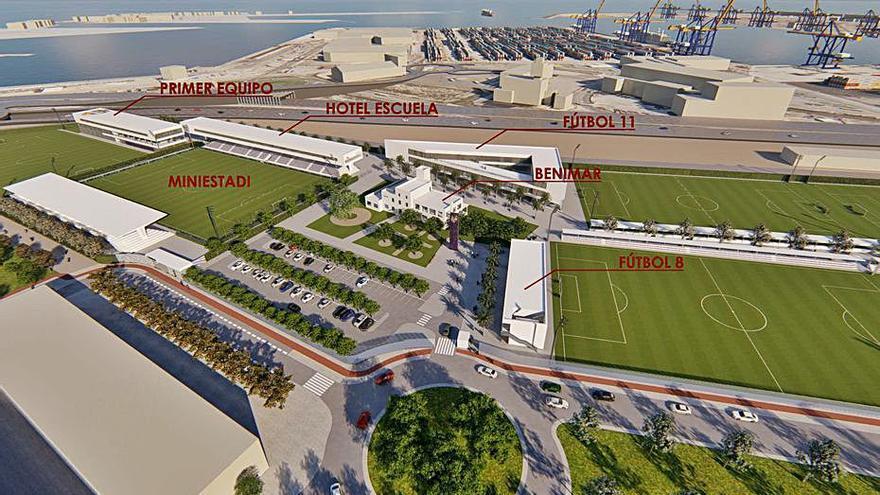 Natzaret pide que se mejore el acceso a la futura ciudad deportiva del Levante