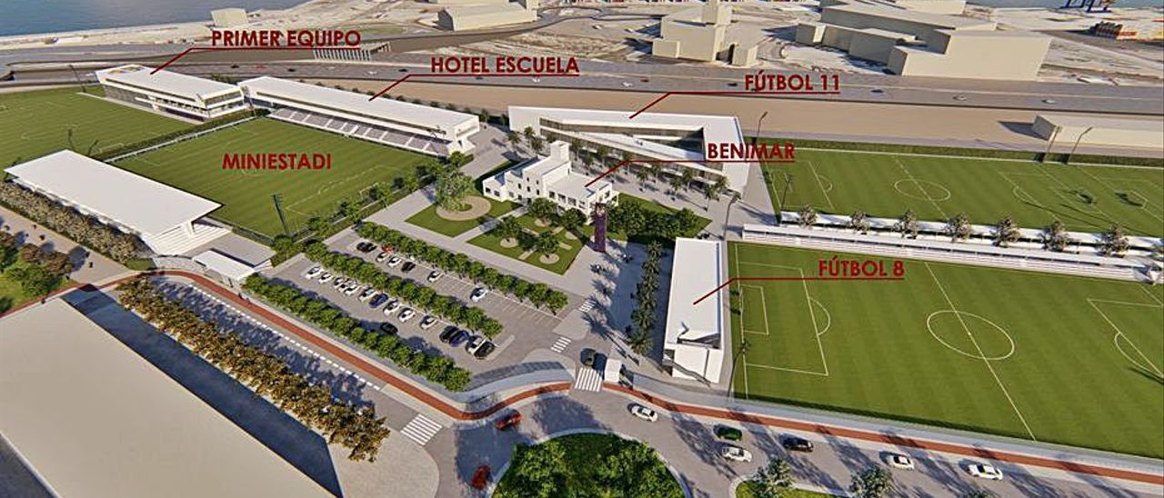 Plano de la futura ciudad deportiva del Levante. | LEVANTE-EMV