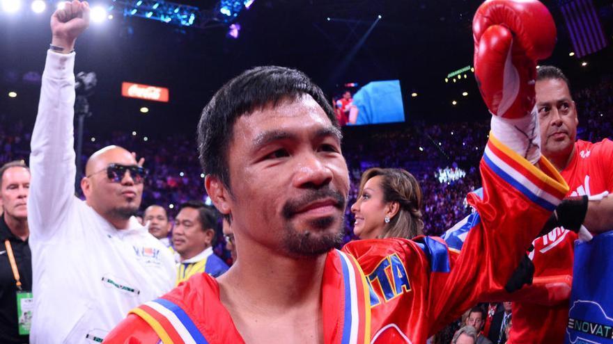 Pacquiao se retira del boxeo para dedicarse a la política