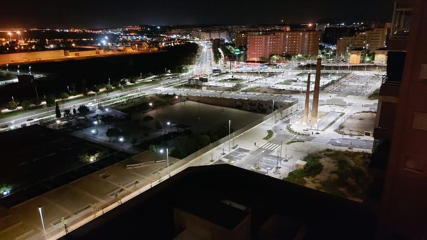 Abre al tráfico Benalúa Sur tras acabar la reurbanización que permitirá 555 nuevas viviendas en Alicante