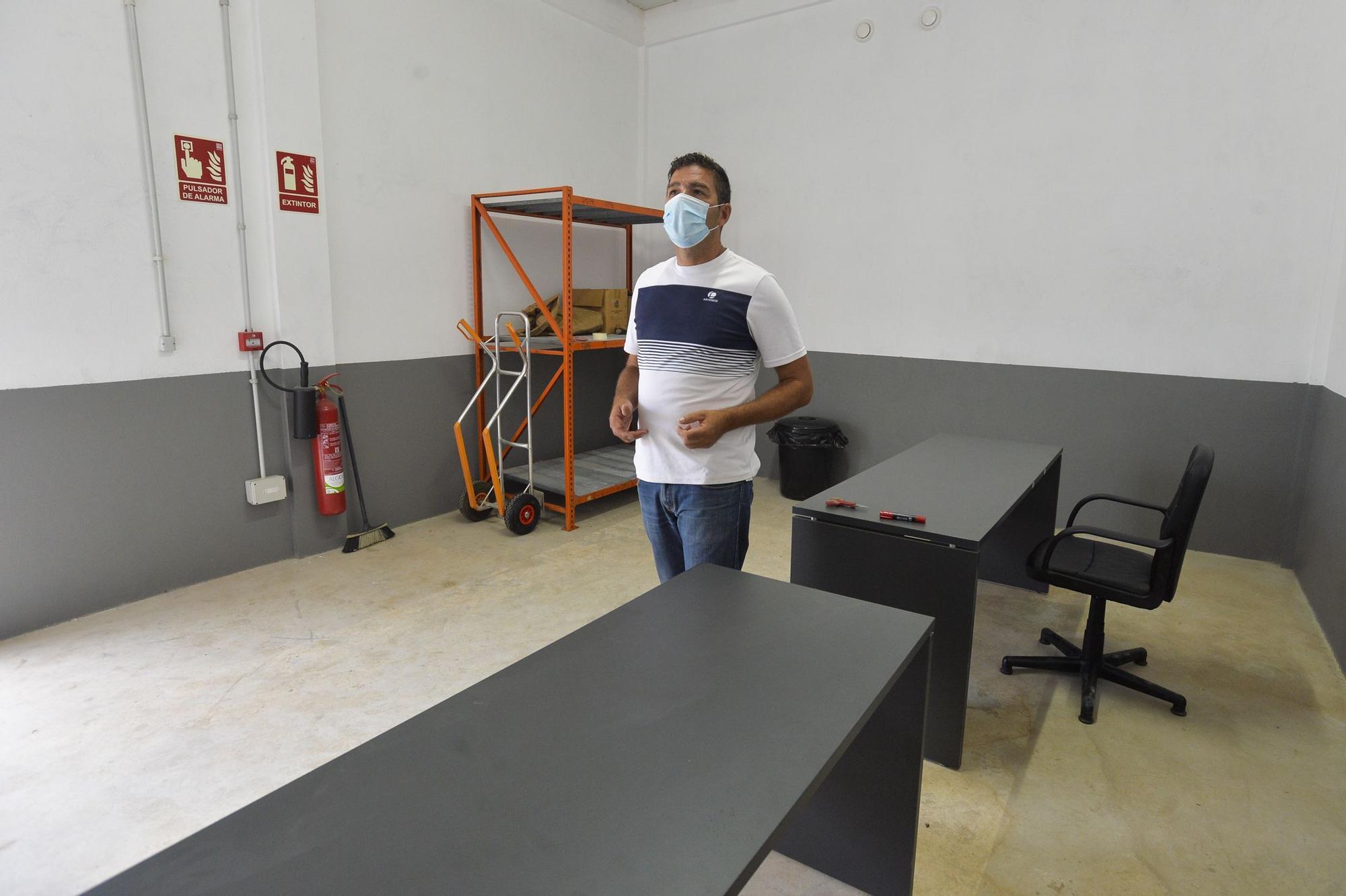 Fábrica pirotécnica en Arucas