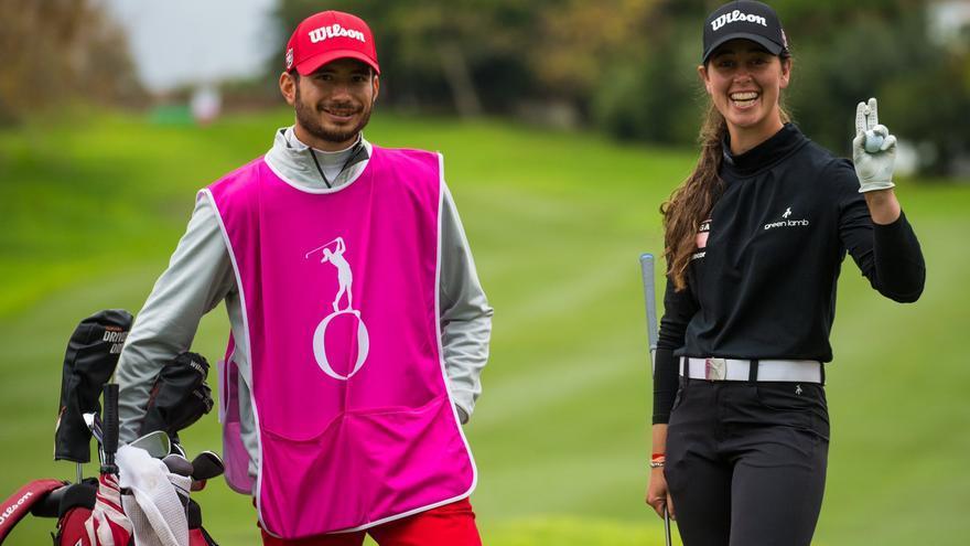 Nuria Iturrioz se estrena en el US Open femenino de golf