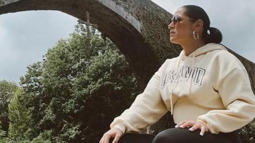 """Rosa López carga pilas en Asturias, la tierra de su chico: """"He disfrutado mucho"""", asegura"""
