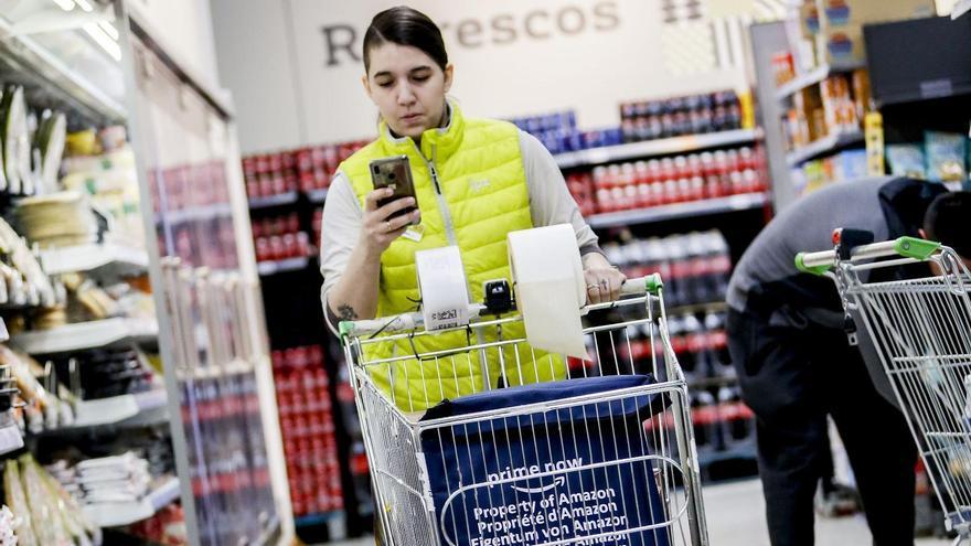 Amazon trae a Alicante su servicio Prime Now para repartir la compra del súper