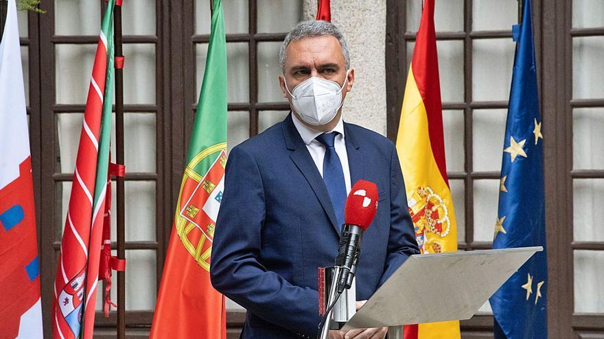 Zamora | Izquierdo apuesta por abrir un diálogo para abordar la financiación de Monte la Reina
