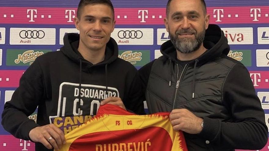 """Djuka, convocado con Montenegro: """"Daré el máximo, como siempre"""""""