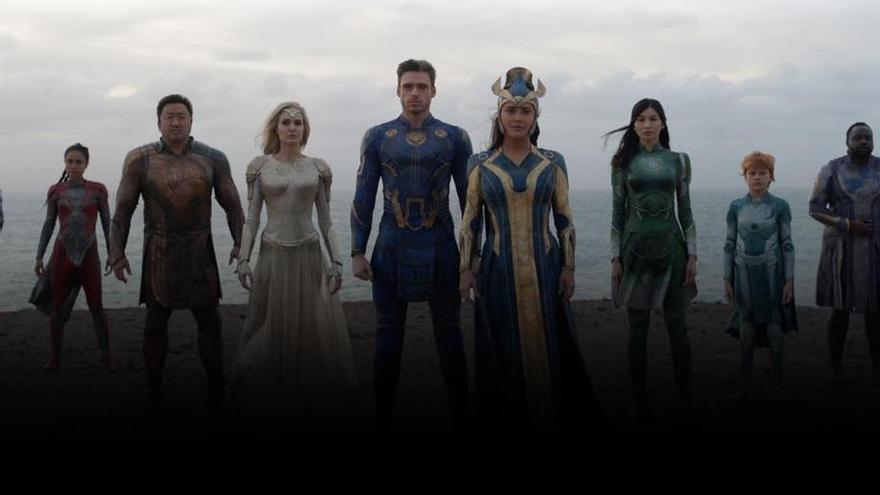 Marvel estrena el tráiler de 'Eternals' con localizaciones en Canarias