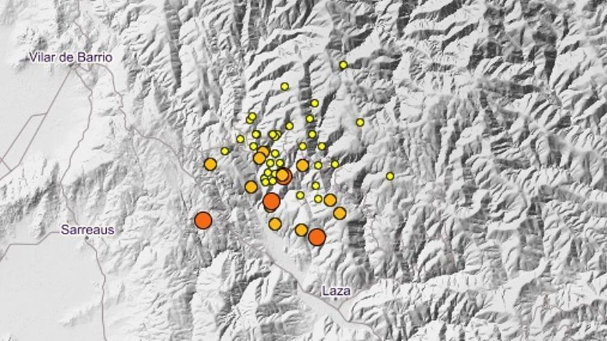 """Medio centenar de terremotos sacuden Laza en seis días: """"Estamos acostumbrados"""""""