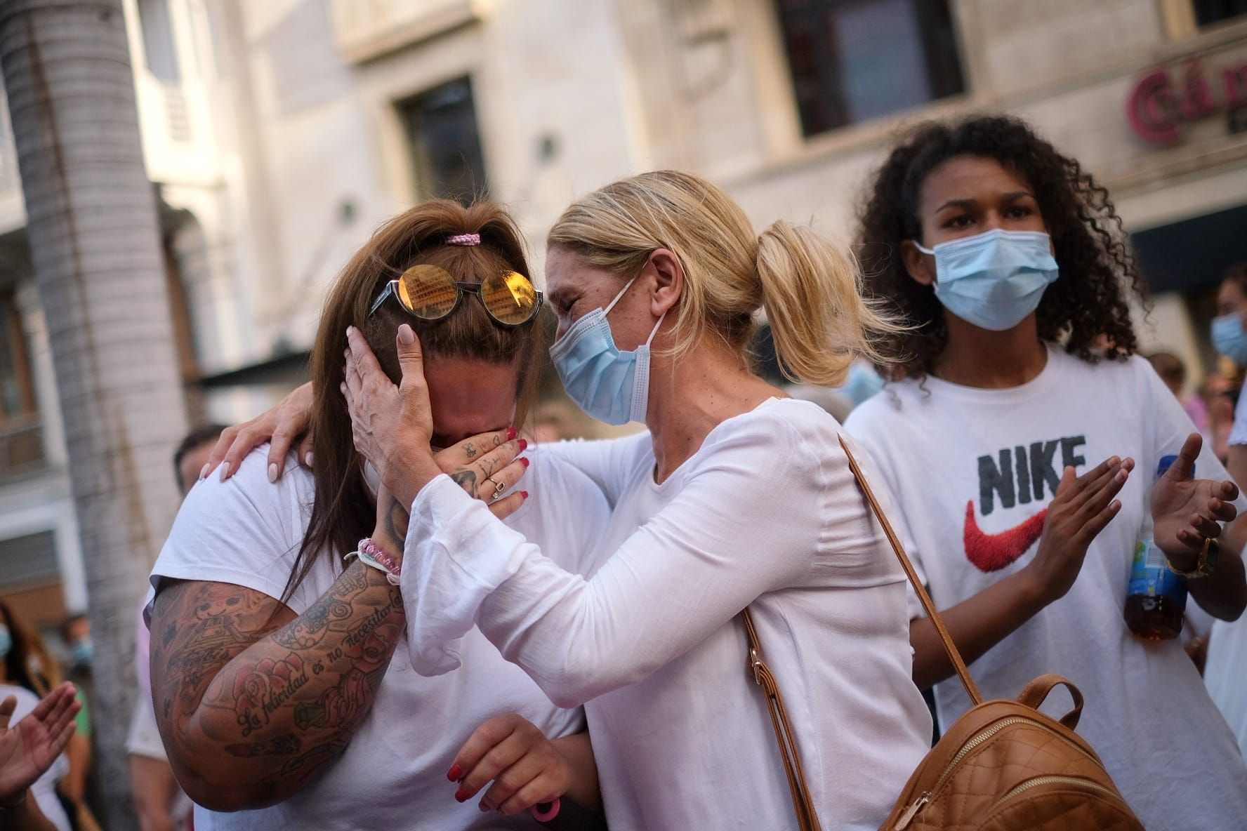 Tenerife llora la muerte de Olivia
