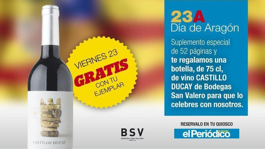 Celebra con El Periódico de Aragón el Día de San Jorge