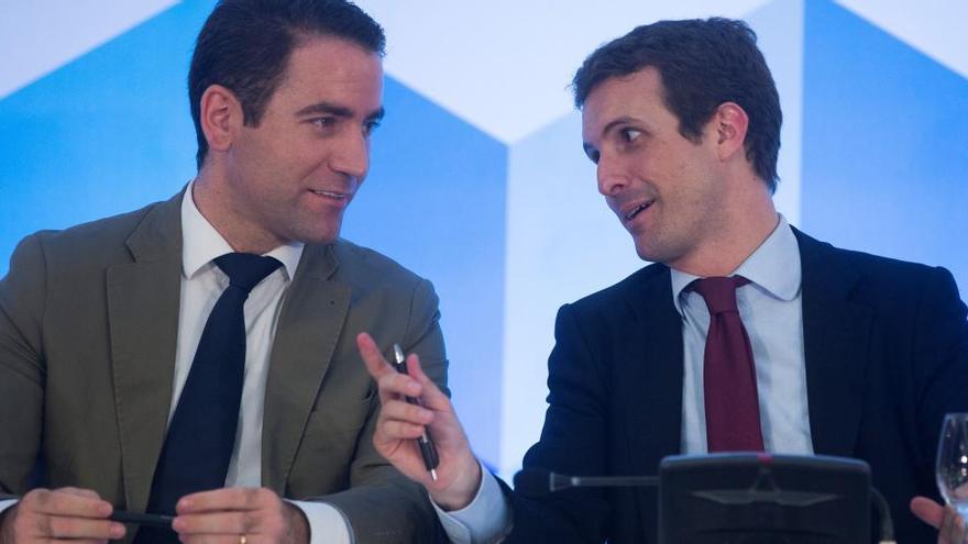 Teodoro García Egea serà el nou secretari general del PP i Dolors Montserrat la portaveu popular al Congrés
