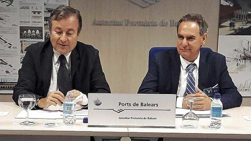 Hoy se formalizará la salida de Joan Gual de la Autoridad Portuaria