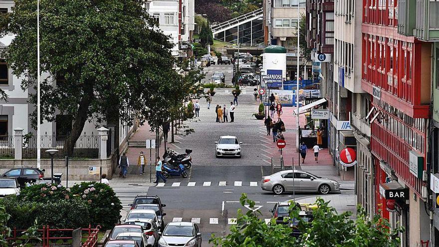 El Ayuntamiento planea la creación de otro corredor peatonal desde A Palloza al Fórum