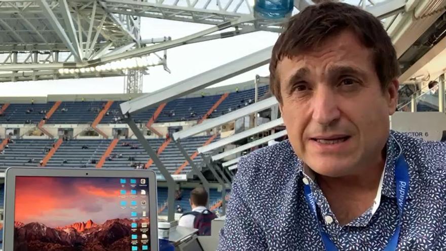 José Luis Lizarraga, enviado especial a Madrid, analiza la previa del Real Madrid-Villarreal desde el Bernabéu