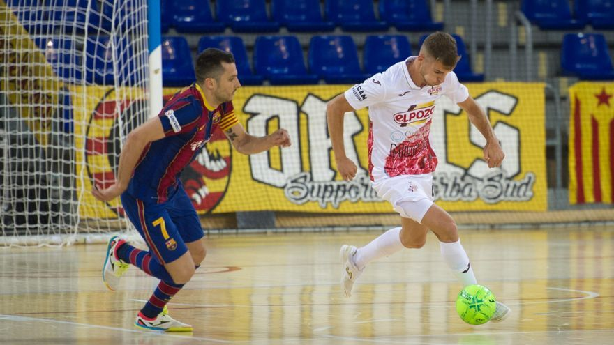 ElPozo corta su mala racha ante el Barça y se pone líder de la liga (0-0)