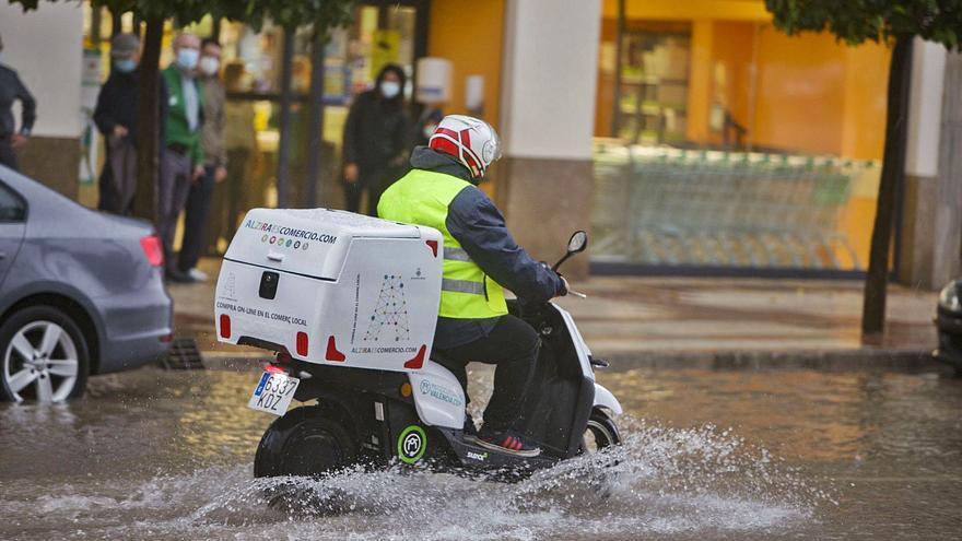 La Casella tritura el registro anual de lluvias con casi 1.500 l/m2