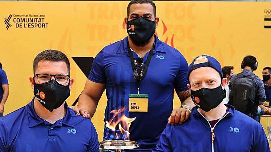 Kim López, Héctor Cabrera e Iván Cano, ante su último gran test antes de Tokio