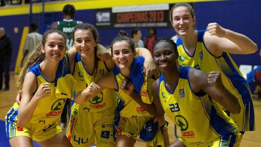 El SPAR Gran Canaria regresa a la máxima categoría del baloncesto femenino