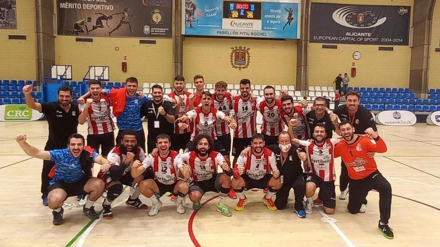 El Fertiberia supera la primera eliminatoria de Copa del Rey (22-26)
