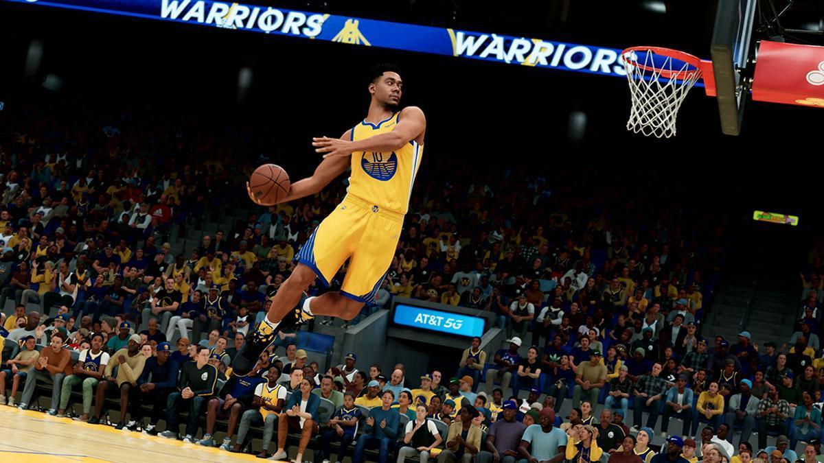NBA 2K22.