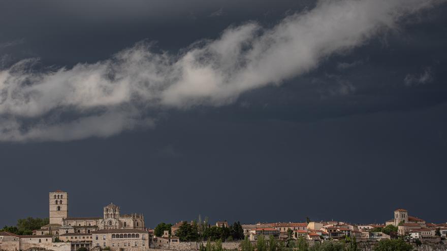 Castilla y León al completo, en aviso amarillo por tormentas