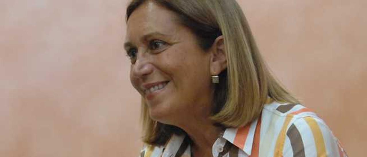 Mercedes Roldós, diputada y candidata al Cabildo de Gran Canaria.