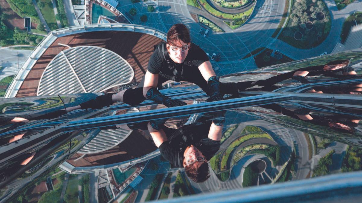 Tom Cruise, en 'Protocolo fantasma', una entrega anterior de 'Misión imposible'.