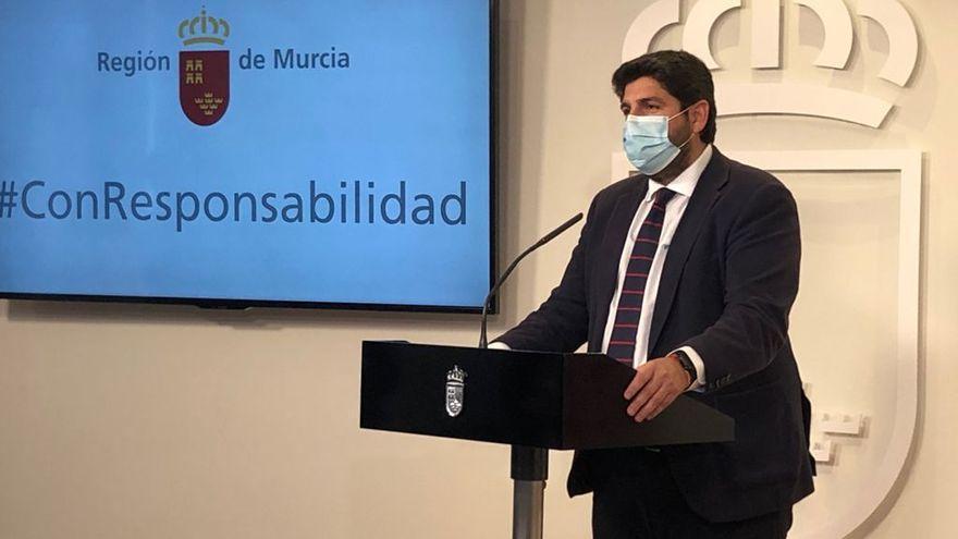"""López Miras, ante la moción de censura: """"Asistimos a un acto de traición"""""""